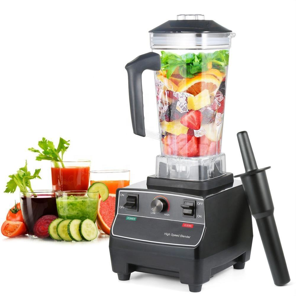 2200W Heavy Duty Commercial Grade Automatic Timer Blemder Mixer Juicer Fruit Food Processor Ice Smoothies BPA Free 2L Jar