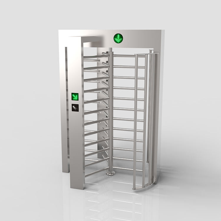 Security Rotary Durable Smart IR Sensor Electronic Full Height Turnstile Gate