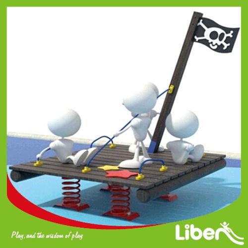 Le. Tm. 187 spezielle neue piratenschiff kinder reiter für spielplatz Nutzung