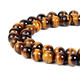 Natural Grade 4/6/8/10/12mm AB+ Round Yellow Tiger Eye Beads AA Tiger Eyes Gemstone Beads for Jewelry Making Strand