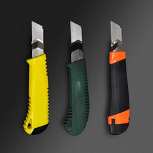 Custom Cheap Plastic Hand Tools Set Must Steel Wallpaper Retractable Utility Knife Blade Cutter Utility Knife