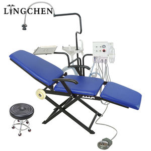 High Quality Newest dental equipment Mobile Folding Portable Dental Unit Chair