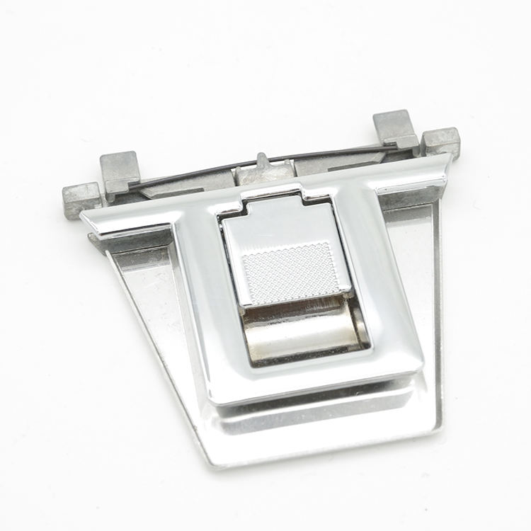 Aluminum mesh grease range hood filter latch