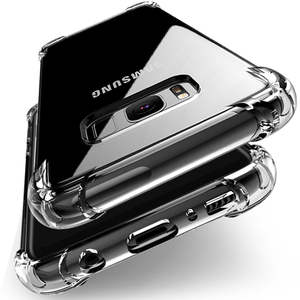 Clear Soft TPU Case Voor Samsung Galaxy A50 A30 A20 A10 A60 A70 A40 A90 ShockProof Cover S10 S8 S9 plus M30 M20 M10 Siliconen Case