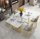 Modern cheap top kitchen table and chairs dining table set