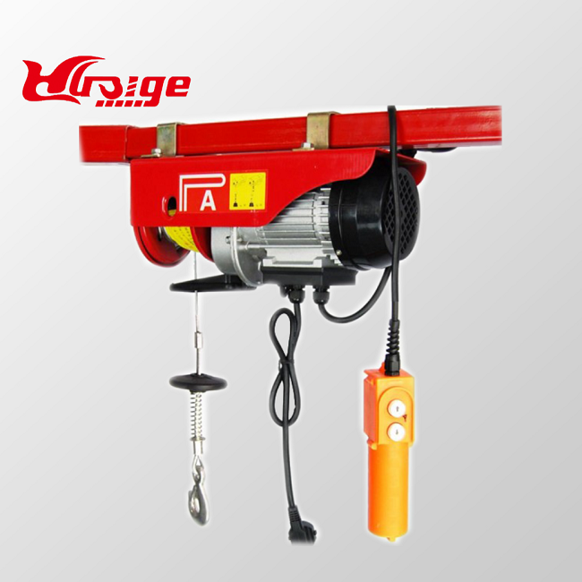 500Kg Small Overhead Crane, Electric Wire Rope Hoist, 0.5 Ton Mini Wire Rope Electric Hoist