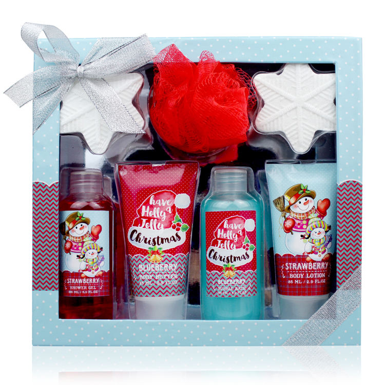 Best Price oem odm cardboard box sets christmas bath gift set