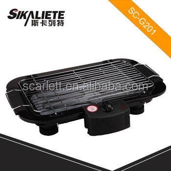 Scarlett sc-g201 nuovo design griglie di ferro fuso bbq per comprare