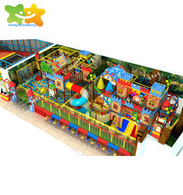 Children playground amusement park equipment kids play zone indoor products