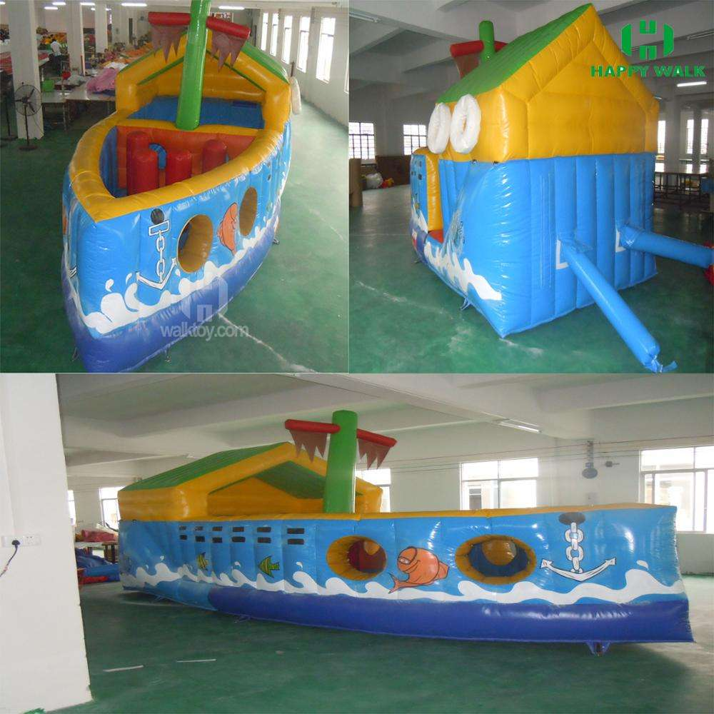 HI new high quality boat inflatable jumping bouncy castle prices,funny and charming bouncy castle