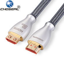 Choseal TH-619 HDMI to HDMI 2.0 4K*2K Gold-plated 3D 1080P Audio Cable 1m 1.5m 2m 3m 5m for TV PS3 PS4 Projector Computer
