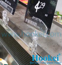 Good Quality Plastic POP Price Tag Clip for supermarket