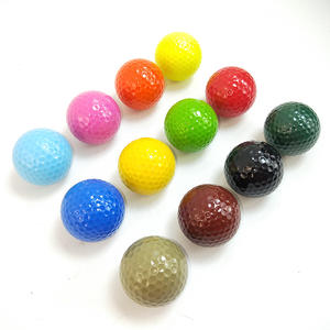 colored indoor outdoor putting mini golf course golf ball