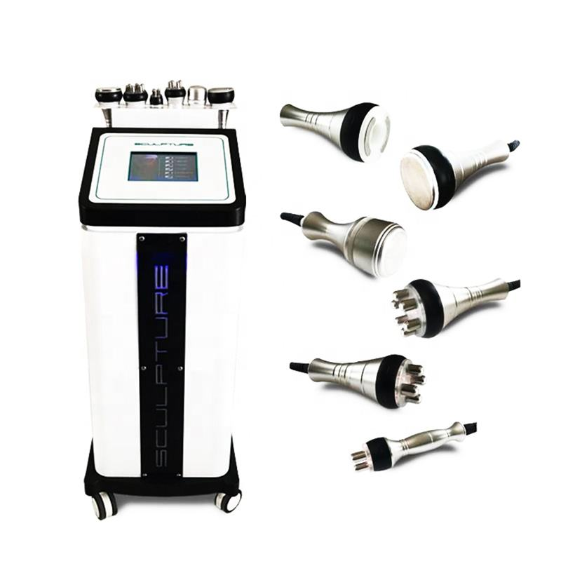 2021 New Multifunctional 6 In 1 40K Cavitation RF Machine Weight Loss Body Slimming Machine Weight Loss Vacuum Cavitation System