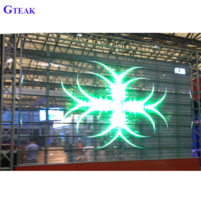 10mm [ Led P10 ] P10 Led Screen Transparent Led Curtain Screen P10