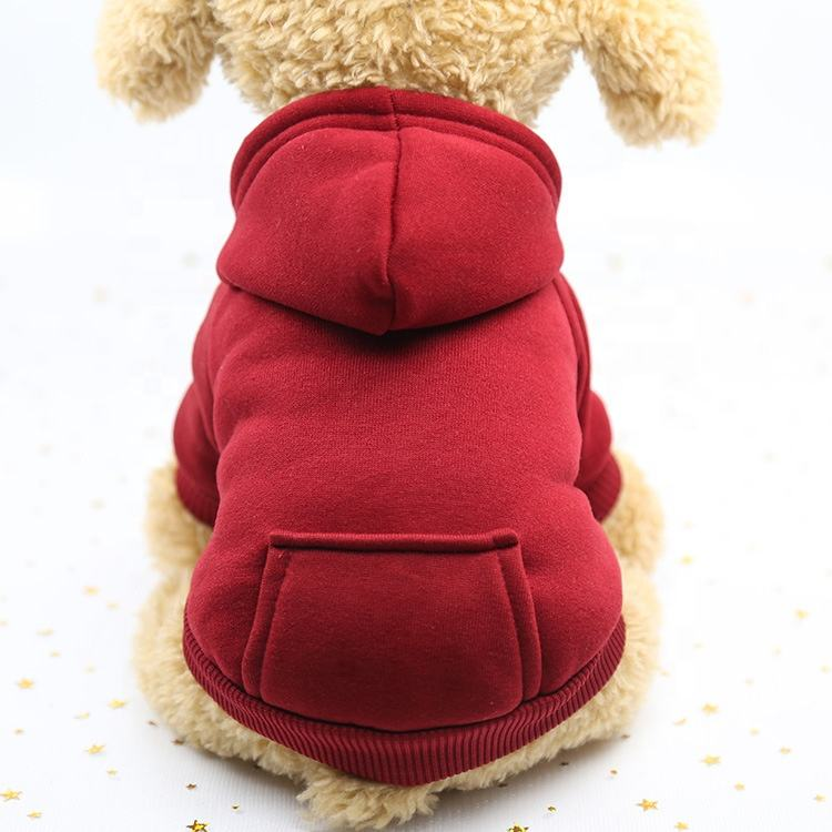 Trussu Wholesale Custom Camouflage Winter Warm Pet Clothes Dog Hoodie