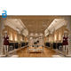 Boutique Store Wood clothing fixture Display Rack Clothes Shop Furniture