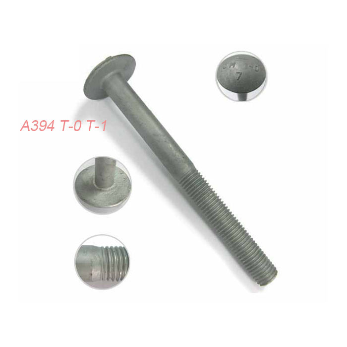 US trademark principal register A394 T-0 T-1 step bolt/ hex bolt