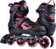 Outdoor sports skating LED wheels men and women inline roller skates wholesale