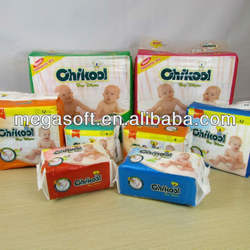Leak guard anti-Leak disposable diaper type baby diapers in bales Baby Diaper Manufacturer in China