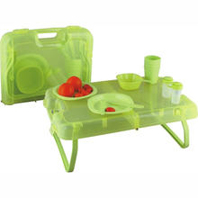 Hot Selling 35 Pieces of Plastic Tableware And Picnic  Set
