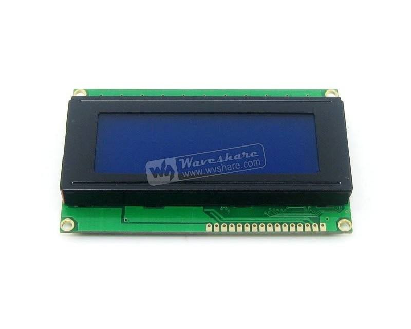 Original 5 V 20x4 20*4 LCD 2004 Módulo LCD Character Display LCM TN/STN Azul backlight Branco Personagem com HD44780/KS0066 IC