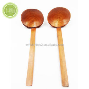 Wholesale korean ramen soup bamboo spoon