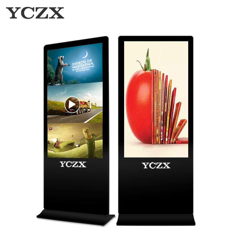 lcd vertical standing display for advertising  digital display for advertising