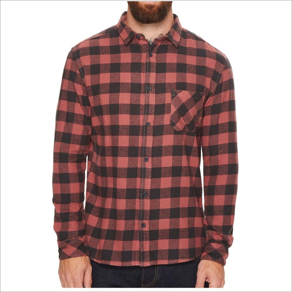 Factory Wholesale Custom Microfiber Flannel Shirt Long Sleeve Flannel Cotton Shirt For Men