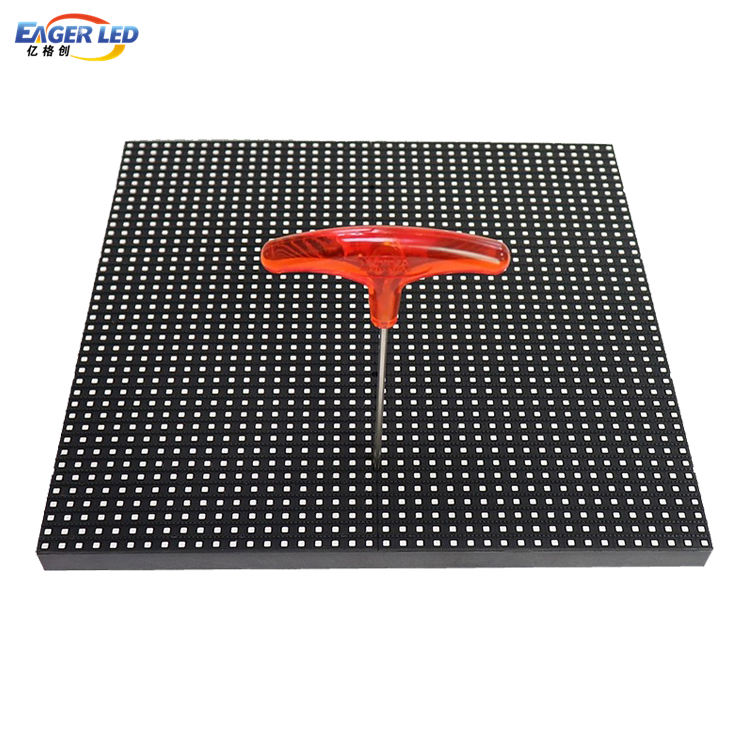 40x40dot 1/4 Scan 320*320mm P8 Outdoor Dual Onderhoud LED Module