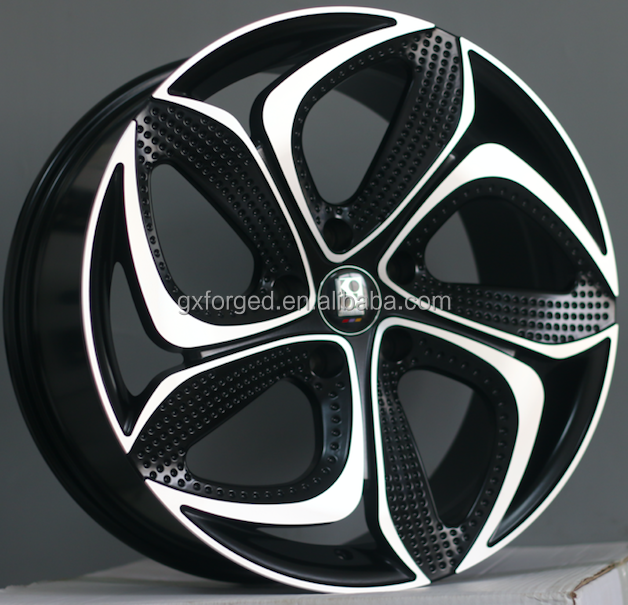 2018 new design aftermarket alloy wheel 1880 inch 5*114.3 112 120 100 deep concave by replica alloy wheels from shanghai koko