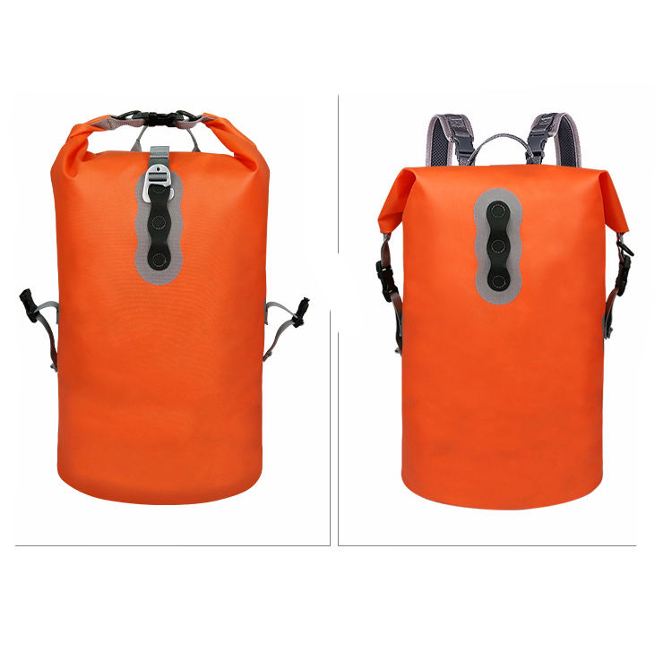 Travel Waterproof Backpack Dry Bag 6L Roll-top Recreation Dry Backpack Outdoor Sports Backpack for Kayaking, Boating, Hiking