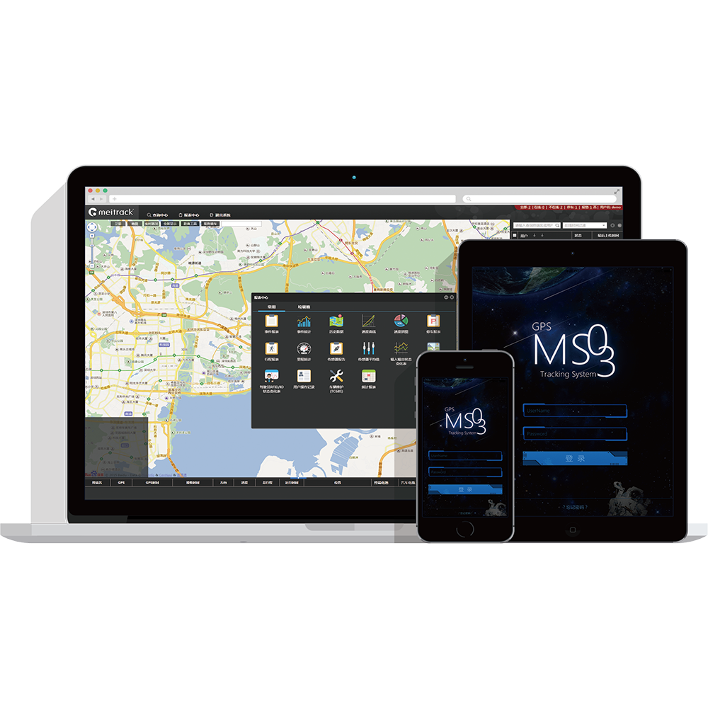 Neue Ankunft! Meitrack GPS Tracking System/Computer Tracking Software MS03