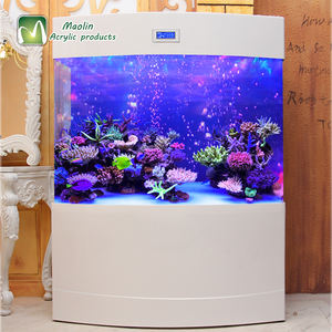High quality large acrylic fish aquarium for home hotel decoration