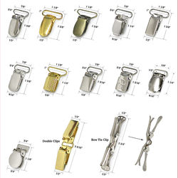 China manufacturer wholesale customized metal various suspender clips