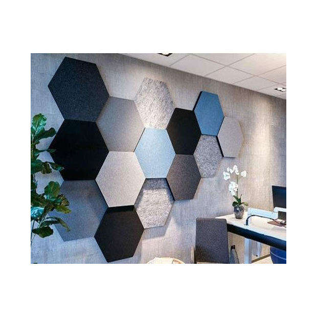 special shape polyester fiber acoustic panel