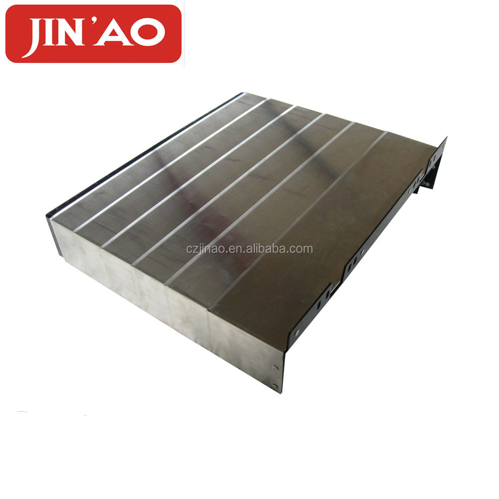 Hinged mounted telescopic sheet armoured shield