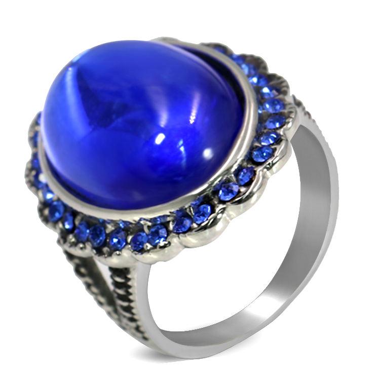 уместно смотрятся серебряное кольцо с синим камнем фото российскими властями
