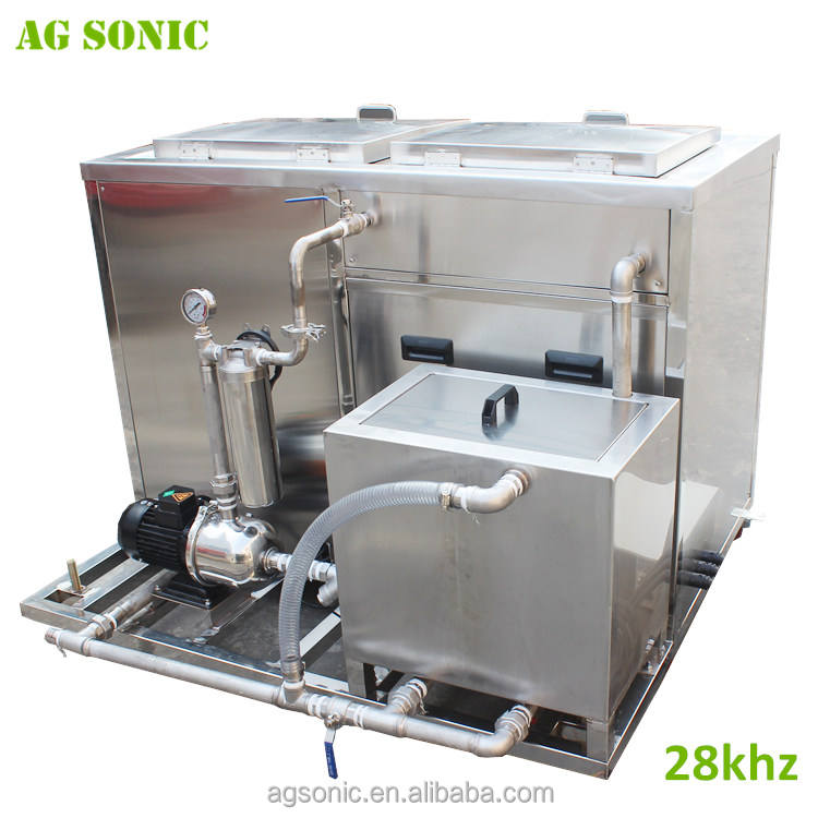 AG SONIC engine cylinder wash ultrasonic cleaning machine 28khz heavy duty oil remove