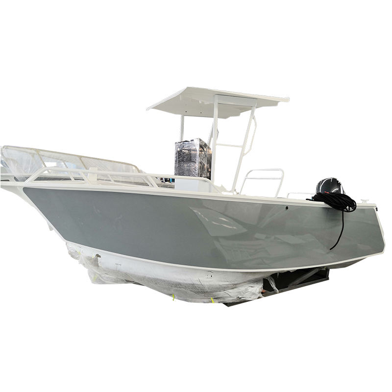 China supplier 5.5m aluminum fishing center console boats