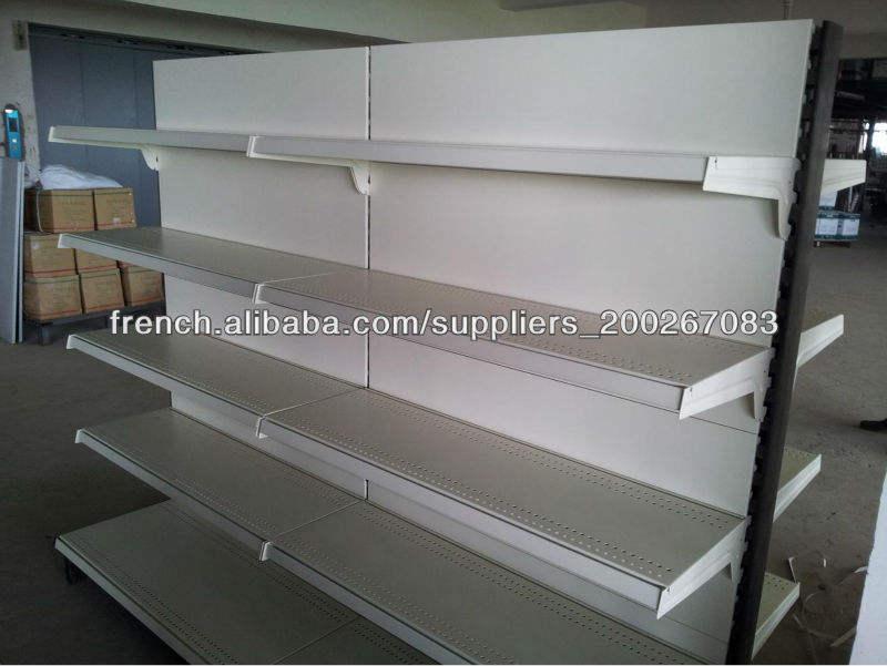 High quality Supermarket gondola display shelf