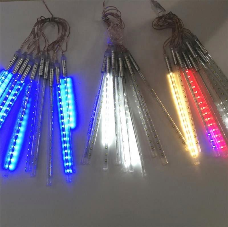 Lighting Meteor For Colorful Decorative Snow Drop Lights Led Holiday Tube Light