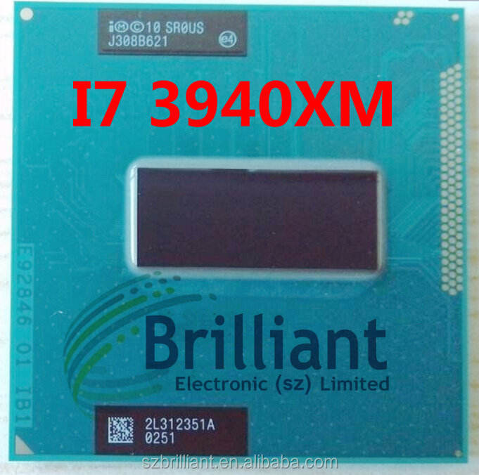 for Intel core I7 3940XM CPU Processor