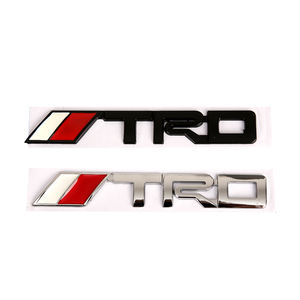 Car Logo 3D Racing Metal Sticker Auto Emblem Badge Decal For Toyota