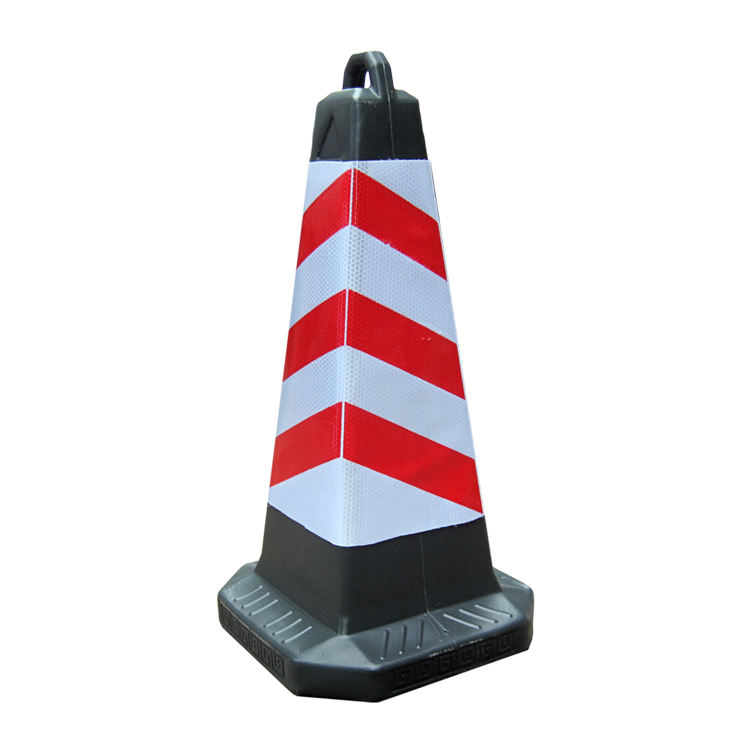 Wholesale parking pot and road warning Plastic Square Traffic Cone
