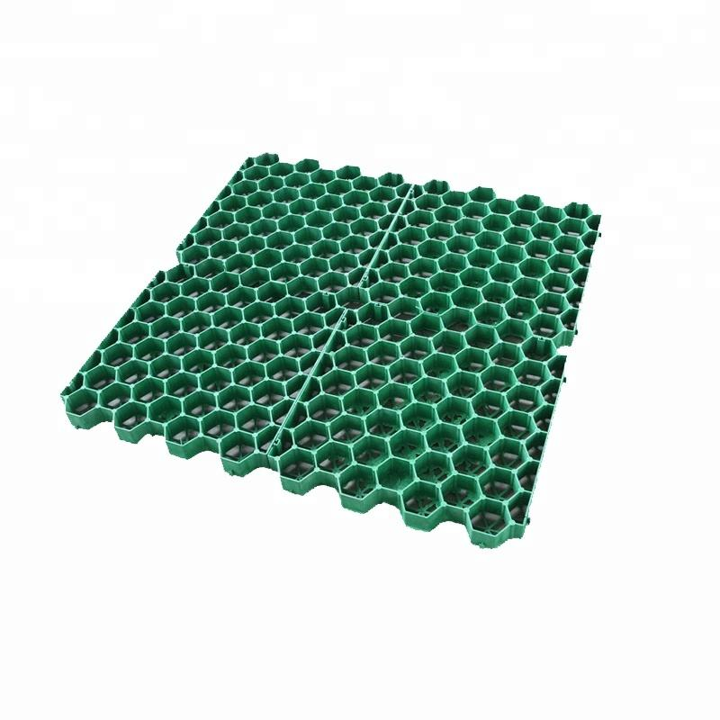 with cheap price Honeycomb Gravel Stabilizer grass grid/paving grids