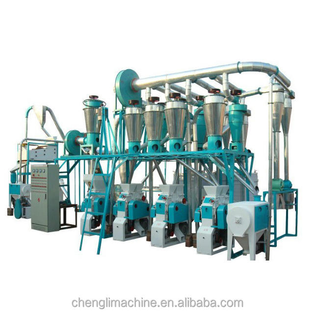 20t/day Automatic Wheat Cassava Flour Mill, wheat flour making machine