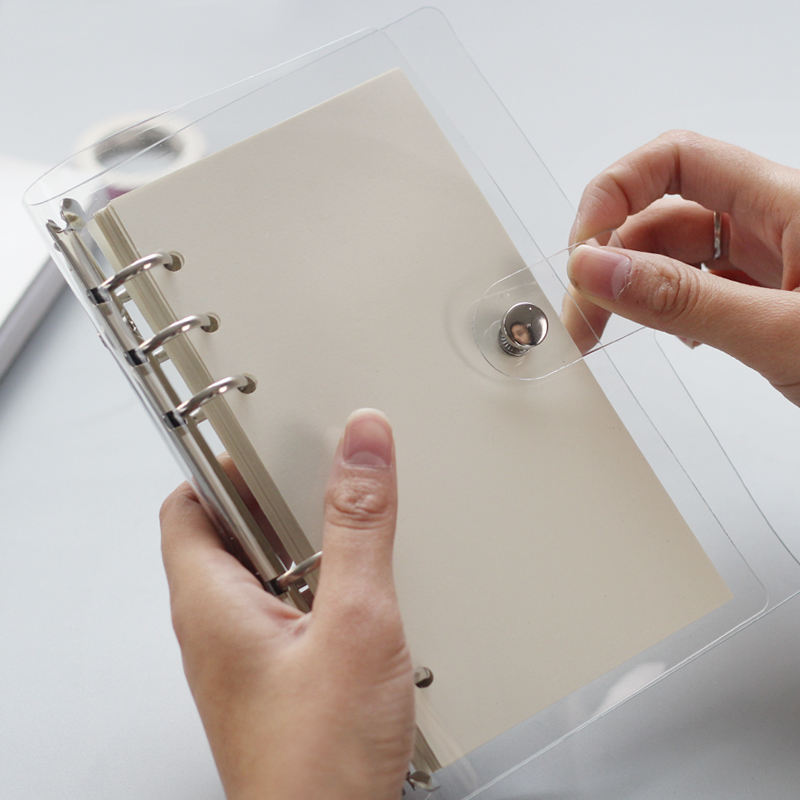 chinese wholesale stationery products supplies a7 pocket size metal 6 ring binder mechanism