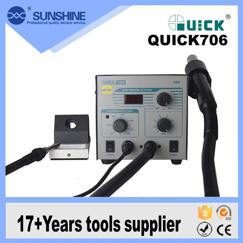 SUNSHINE QUICK 706 hot air gebruikt bga smd rework soldeerstation