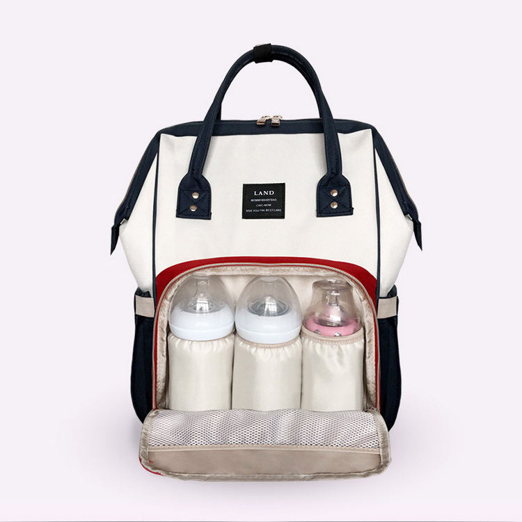 Fashion Colorful Large Capacity Diaper Bag Backpack